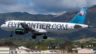 N223FR - Airbus A320-214 - Frontier Airlines