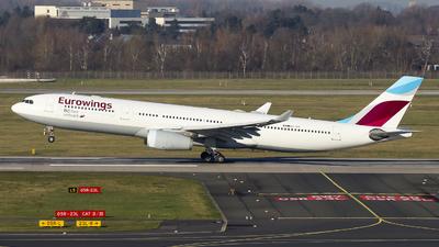 OO-SFP - Airbus A330-343 - Eurowings (Brussels Airlines)