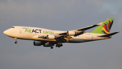 A picture of TCACF - Boeing 747481(BDSF) - AirACT - © Holger Eultgen