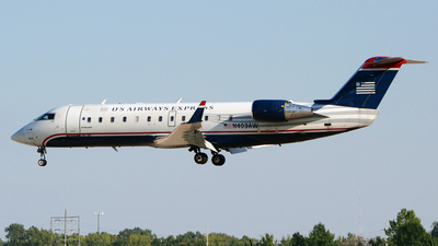 N403AW - Bombardier CRJ-200LR - US Airways Express (Air Wisconsin)