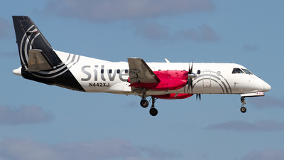 N442XJ - Saab 340B+ - Silver Airways