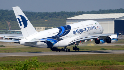 A picture of 9MMNA - Airbus A380841 - Malaysia Airlines - © Mior Affandy