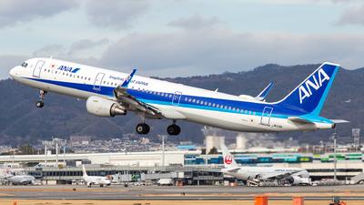 JA113A - Airbus A321-211 - All Nippon Airways (ANA)