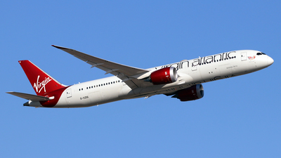 A picture of GVZIG - Boeing 7879 Dreamliner - Virgin Atlantic - © Jubilant Chan - AHKGAP