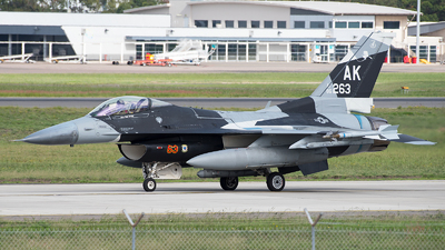 86-0263 - General Dynamics F-16C Fighting Falcon - United States - US Air Force (USAF)
