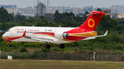 A picture of B104X - Comac ARJ21700 - Chengdu Airlines - © Jeff Tang