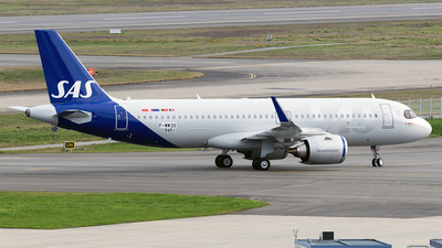 F-WWDS - Airbus A320-251N - Scandinavian Airlines (SAS)
