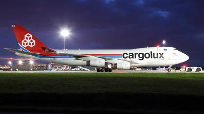 A picture of LXWCV - Boeing 7474R7(F) - Cargolux - © László Kurilla