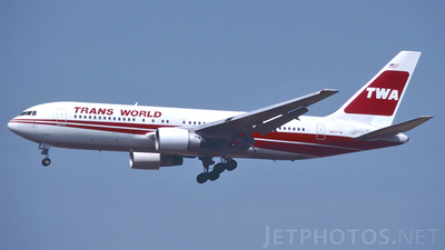 N607TW - Boeing 767-231 - Trans World Airlines (TWA)