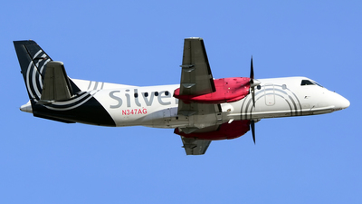 N347AG - Saab 340B - Silver Airways