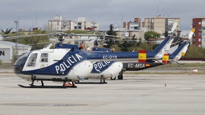 EC-DYN - MBB Bo105 - Spain - National Police