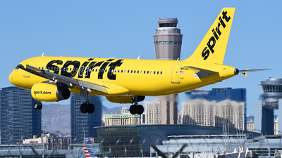 A picture of N608NK - Airbus A320232 - Spirit Airlines - © Rocky Wang