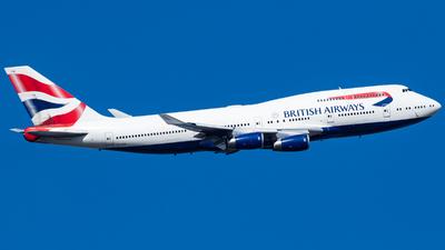 G-CIVW - Boeing 747-436 - British Airways