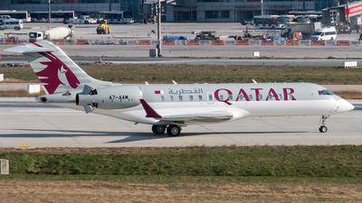 A7-AAM - Bombardier BD-700-1A10 Global Express - Qatar - Amiri Flight