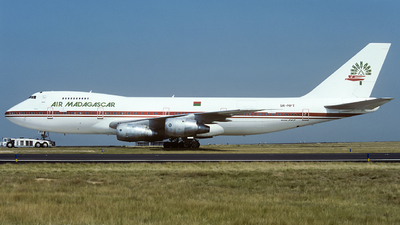 5R-MFT - Boeing 747-2B2B(M) - Air Madagascar