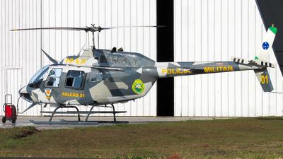 PP-EJI - Bell 206B JetRanger III - Brazil - Government of Parana