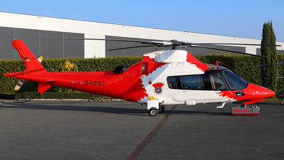 A picture of DHFRT - AgustaWestland A109E Power - [11169] - © Daniel Klein