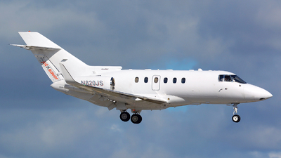 N820JS - Hawker Beechcraft 800XP - Private