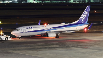 JA79AN - Boeing 737-881 - All Nippon Airways (ANA)