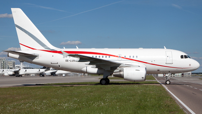 OE-LUX - Airbus A318-112(CJ) Elite - Tyrolean Jet Services