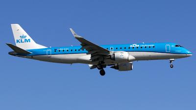 PH-EZC - Embraer 190-100STD - KLM Cityhopper