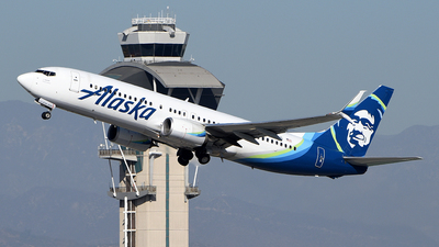 A picture of N536AS - Boeing 737890 - Alaska Airlines - © Rocky Wang