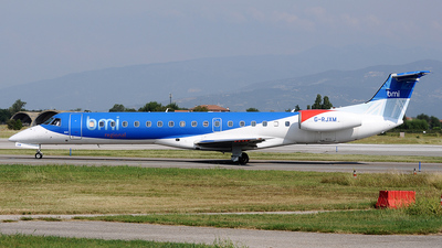 G-RJXM - Embraer ERJ-145MP - bmi Regional