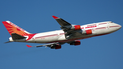 VT-ESP - Boeing 747-437 - Air India
