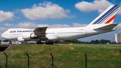 F-GCBA - Boeing 747-228B - Air France