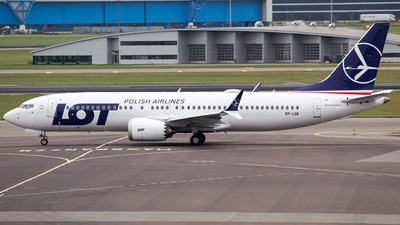 SP-LVA - Boeing 737-8 MAX - LOT Polish Airlines
