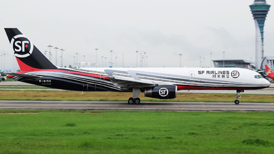 A picture of B6150 - Boeing 75725F(PCF) - SF Airlines - © Luozomi