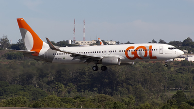 A picture of PRGGU - Boeing 7378EH - GOL Linhas Aereas - © MHR - Team BSB Spotter