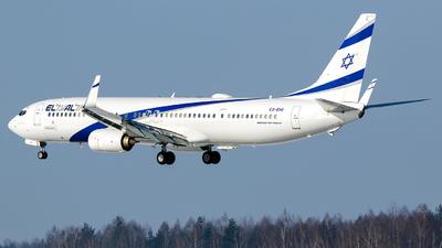 A picture of 4XEHI - Boeing 737958(ER) - El Al - © Krzysiek Dz