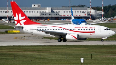 LY-STG - Boeing 737-73S - Star1 Airlines
