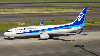 JA72AN - Boeing 737-881 - All Nippon Airways (ANA)