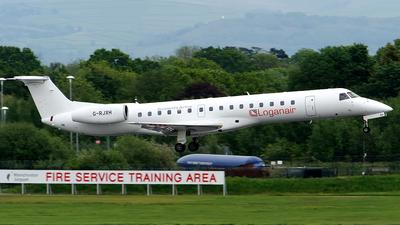 A picture of GRJXH - Embraer ERJ145EP - Loganair - © Paul Y. M. Chow - AHKGAP