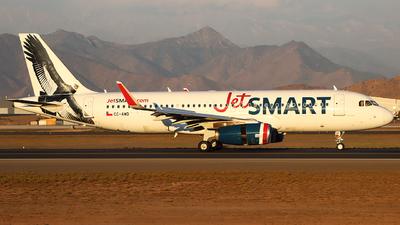 A picture of CCAWD - Airbus A320232 - JetSMART - © Claudio SpotterPrado