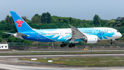 A picture of B2733 - Boeing 7878 Dreamliner - China Southern Airlines - © RainySora