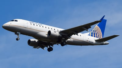 A picture of N646RW - Embraer E170SE - United Airlines - © Evan Dougherty