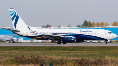 A picture of VQBPM - Boeing 7378AS - NordStar - © Addra Steddman