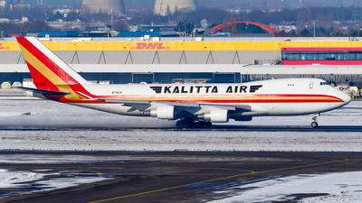 A picture of N716CK - Boeing 7474B5F - Kalitta Air - © Matteo Lamberts