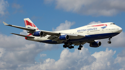 G-CIVB - Boeing 747-436 - British Airways