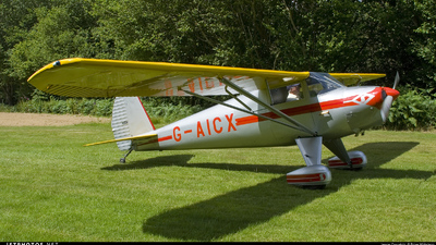 A picture of GAICX - Luscombe 8A Silvaire - [2568] - © Brian Whitelegg