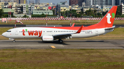 HL8363 - Boeing 737-8GQ - T'Way Air
