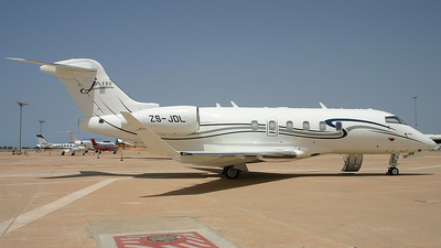 ZS-JDL - Bombardier BD-100-1A10 Challenger 350 - Private