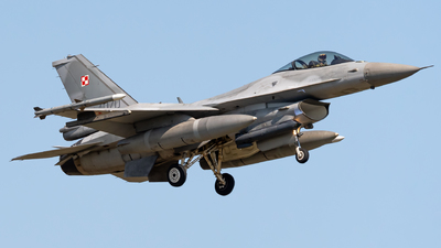 4070 - Lockheed Martin F-16C Fighting Falcon - Poland - Air Force