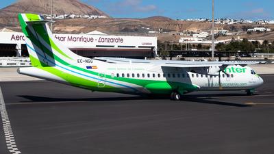 EC-NGG - ATR 72-212A(600) - Binter Canarias