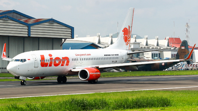 PK-LOR - Boeing 737-8GP - Lion Air