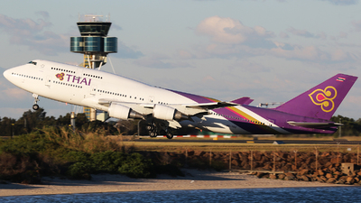 HS-TGZ - Boeing 747-4D7 - Thai Airways International