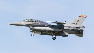 J-882 - General Dynamics F-16BM Fighting Falcon - Netherlands - Royal Air Force